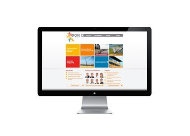 website-DON Bureau voorpagina